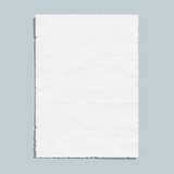 Empty white paper sheet