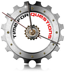 Time for Questions - Metallic Gear