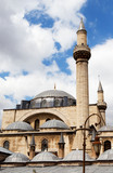 Top of the mosque Azizye in Konya, Turkey