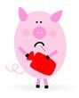 Krankes Schwein
