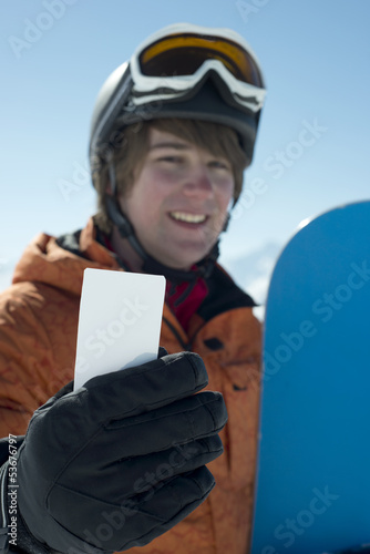 Winter Sport business card