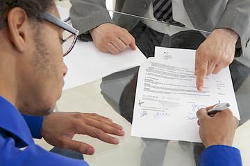Stage en entreprise - Contrat