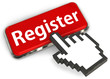 Cursor pressing register button