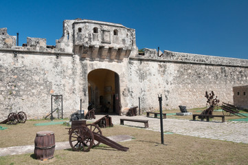 Land gate, Walls of Campeche (Mexico)