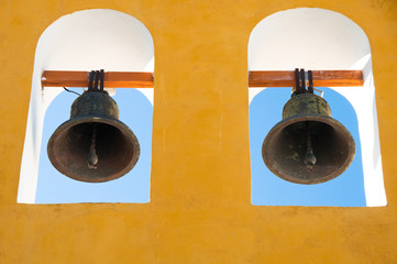 Belfry in Campeche (Mexico)