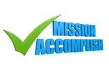 Mission accomplish poster