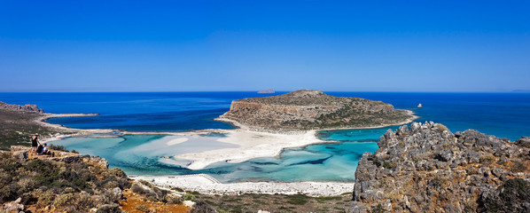 The Balos beach, Granvoussa, Crete