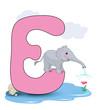 Alphabet, E Elefant