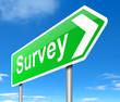 Survey concept.
