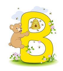Alphabet, B Bär