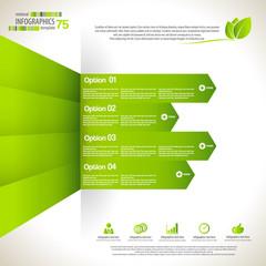 Minimal infographic