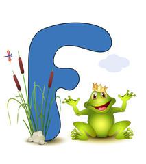 Alphabet, F Frosch