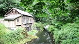 Historic Cedar Creek Grist Mill in Woodland Washington