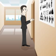 Business illustration.