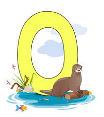 Alphabet, O Otter
