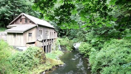 Historic Cedar Creek Grist Mill in Woodland Washington