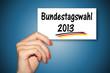 Karte - Bundestagswahlen 2013