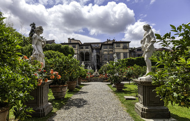 Palazzo Pfanner gardens in Lucca