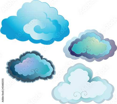 clouds - 53682555