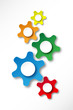 Web Icons (buttons symbols blank template vector gears colours)