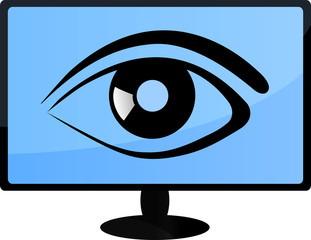 TV Auge Vector