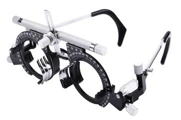 Isolated Eyesight Testing Spectacles