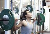 Fototapety Man gym workout