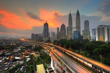 Kuala Lumpur City in the morning