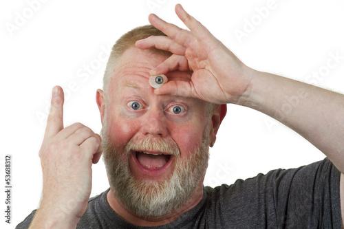 canvas print picture Das dritte Auge