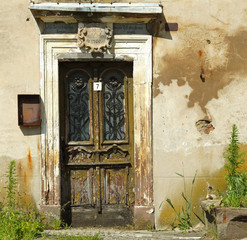 The old door