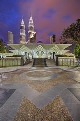 Mosque near KLCC Park, Kuala Lumpur, Malaysia