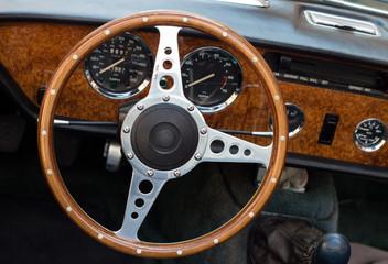Wooden cockpit