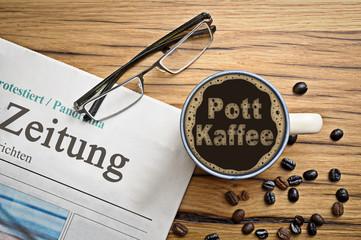 Pott Kaffee
