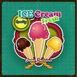 Ice cream summer color