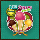 Ice cream summer color