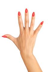 hands manicure
