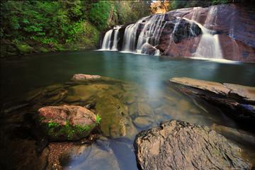 Coal Creek Falls, West Coast New Zealand