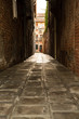 canvas print picture - Strasse in Venedig
