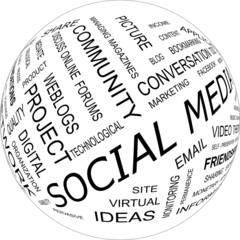 Social media - word cloud