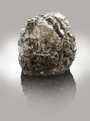 Anthracite - the highest form of coal - solid fossil fuels