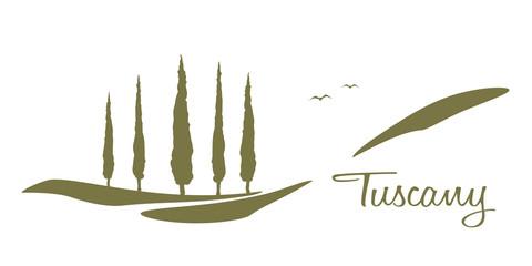 Tuscany graphic