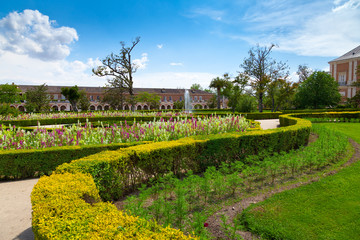 Ornamental Gardens in Aranjuez