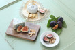 Fresh Fig and Cheese Plate