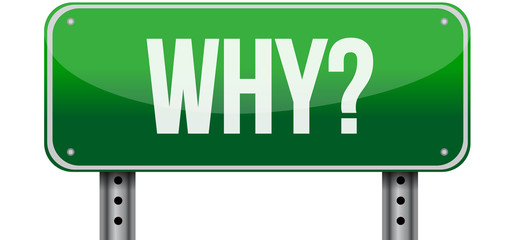 why green road sign illustration