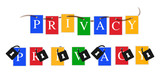 Google privacy colors banner