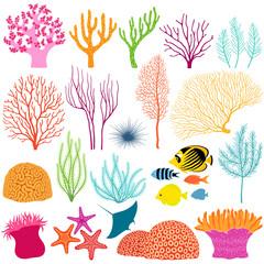 Underwater design elements