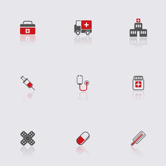 Health and Medicine Icons