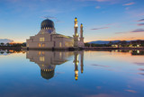 Holy Mosque Reflection at Sunrise