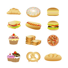food and dessert
