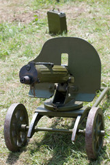 German machine gun of World War II